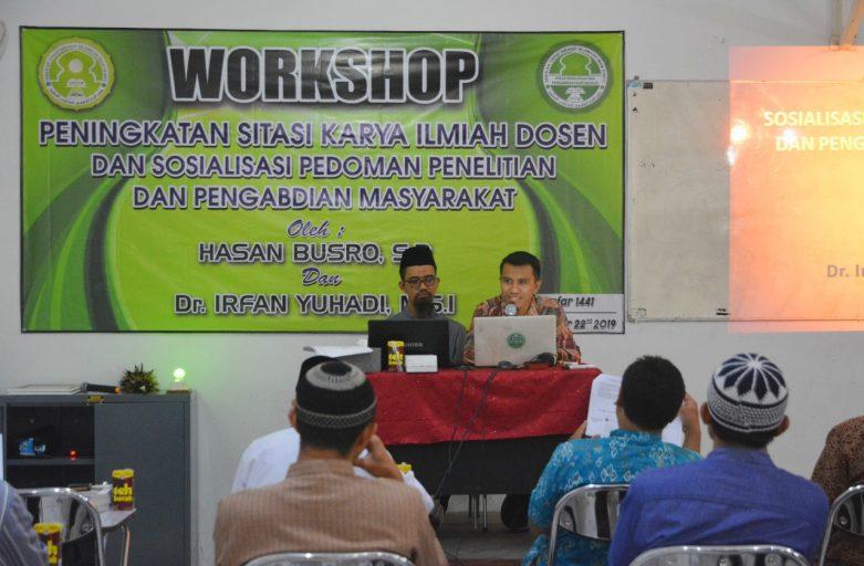 Benahi Poin Akreditasi, P3M STDIIS Jember Undang Seluruh Dosen dalam Workshop Sitasi Karya Ilmiah