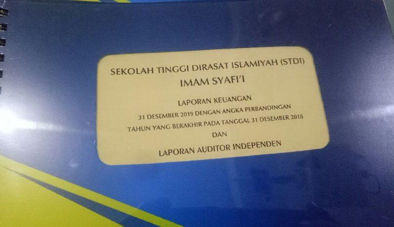 Laporan Keuangan Tahun 2019, STDIIS Jember Raih WTP