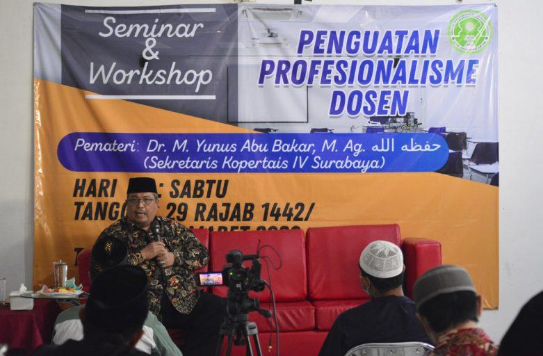 Tingkatkan Kualitas Kampus, STDIIS Jember Gelar Seminar Penguatan Profesionalisme Dosen