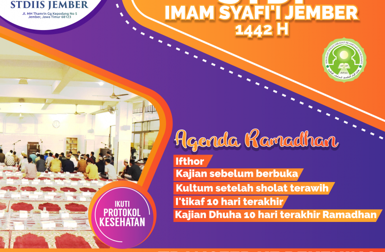 Program Ramadhan STDI Imam Syafi'i Jember 1442 H