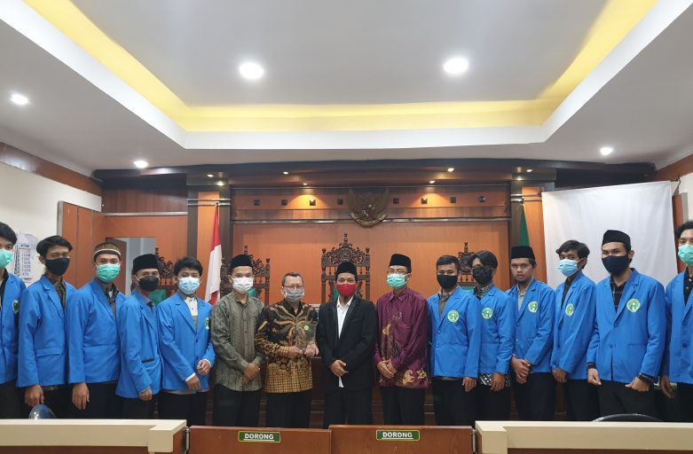 Penarikan Mahasiswa PKL di Pengadilan Agama Jember 2021