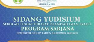 Sidang Yudisium Program Sarjana STDI Imam Syafi'i Jember
