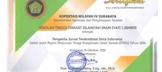 STDI Imam Syafi'i Raih KOPERTAIS AWARD 2021